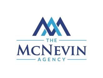 The McNevin Agency logo design