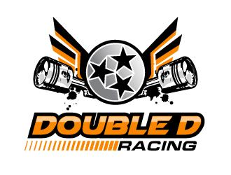 Double D Racing - Derek Denney logo design