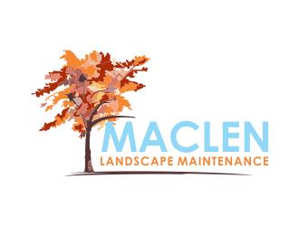 Maclen Landscape Maintenance logo design