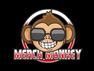 Merch Monkey Media logo design by Ajan
