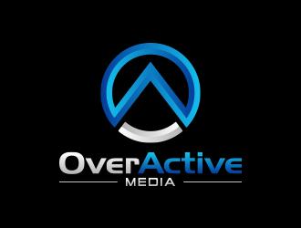 OverActive Media logo design