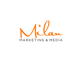 Milan Marketing & Media logo design