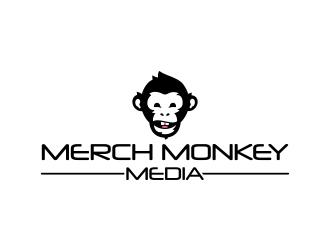 Merch Monkey Media logo design by emyjeckson