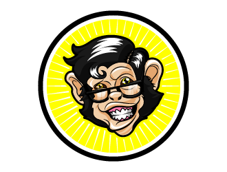 Merch Monkey Media logo design by reight