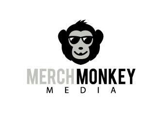 Merch Monkey Media logo design by REDCROW