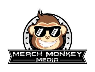 Merch Monkey Media logo design by IrvanB