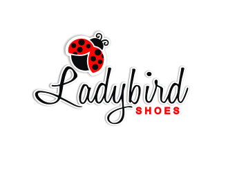 Ladybird Shoes logo design