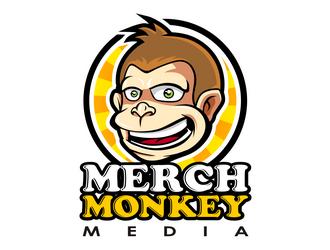 Merch Monkey Media logo design by haze