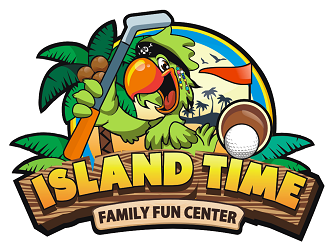Island Time Family Fun Center  logo design