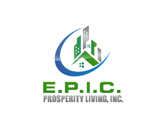 E.P.I.C. Prosperity Living, Inc. logo design
