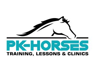 pk-horses logo design