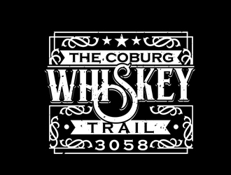 The Coburg Whiskey Trail logo design