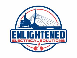 Enlightened Electrical Solutions  logo design
