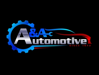 A & A Automotive logo design