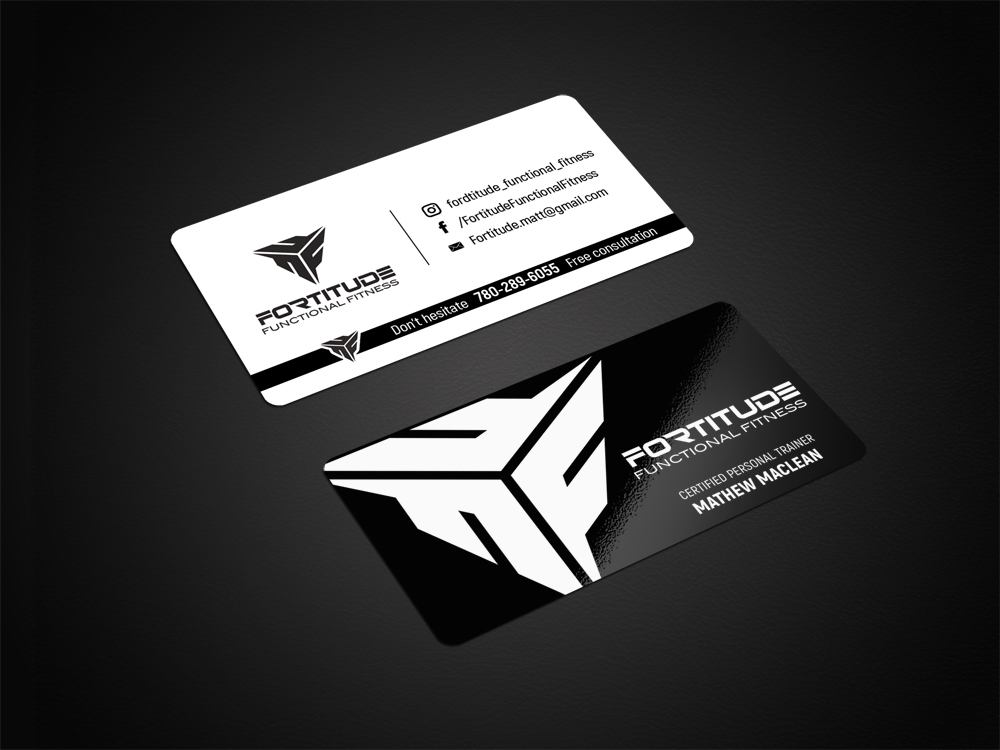 Fortitude Functional Fitness  logo design