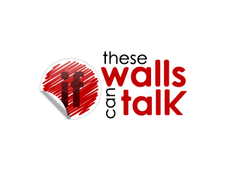 If These Walls Can Talk logo design