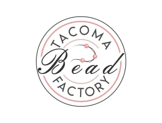 Tacoma Bead Factory logo design