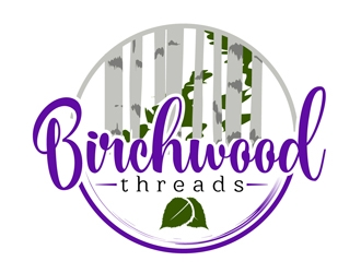 Birchwood Threads logo design