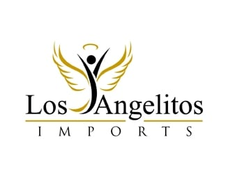 Los Angelitos Imports  logo design