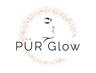 PUR Glow logo design