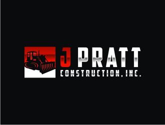 J Pratt Construction, Inc. logo design