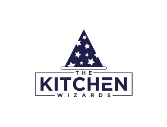 THE KITCHEN WIZARDS logo design