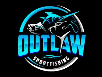 OUTLAW SPORTFISHING logo design