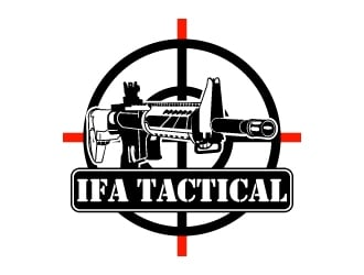 IFA TACTICAL logo design