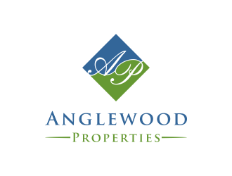 Anglewood Properties logo design