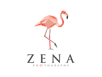 ZENA PHOTOGRAPHY logo design