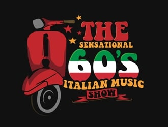 THE SENSATIONAL 60s ITALIAN MUSIC EXPERIENCE logo design