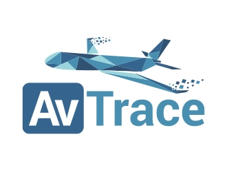 AvTrace logo design