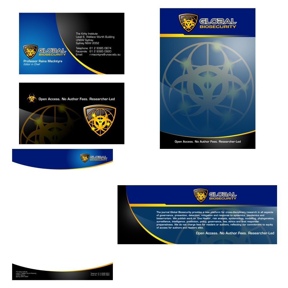 Global Biosecurity logo design