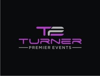 Turner Premier Events logo design
