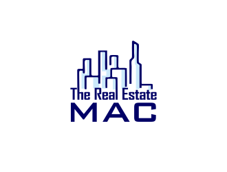 The Real Estate Mac logo design by YONK
