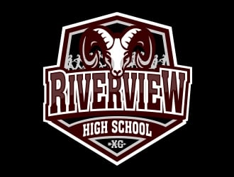 Riverview High School logo design