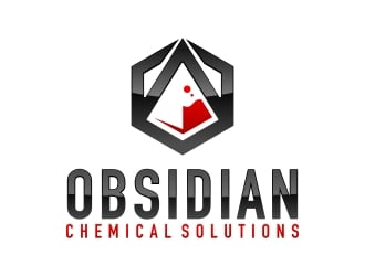 Obsidian Chemical Solutions Logo Design