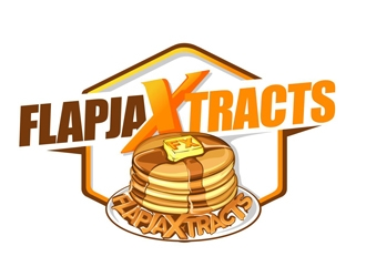 FlapjaXtracts  logo design