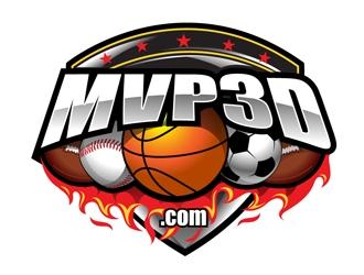 MVP3D.com logo design