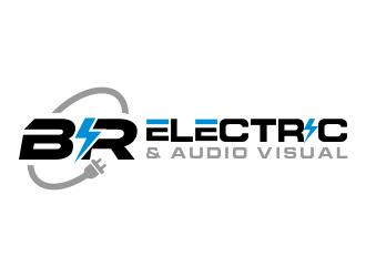 BR Electric & Audio Visual logo design