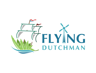 Flying Dutchman Cannabis logo design