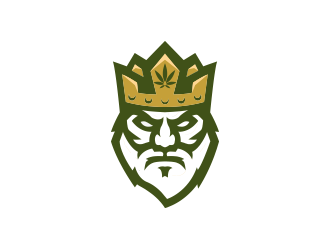 Weed Kings  logo design