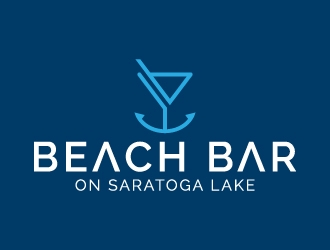 Beach Bar on Saratoga Lake logo design