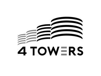 4-Towers logo design