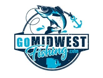 GoMidwestFishing.com logo design