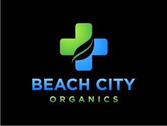 Beach City Organics  logo design