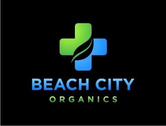 Beach City Organics  logo design