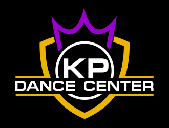 KP Dance Center logo design