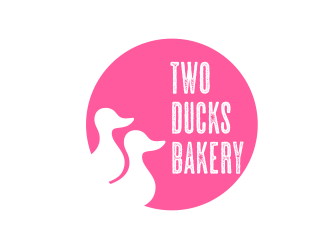 Two Ducks Bakery logo design