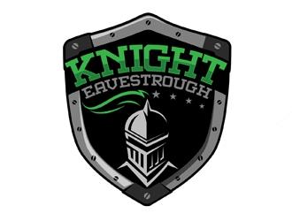 Knight Eavestrough logo design